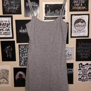 BRANDY MELVILLE GREY DRESS